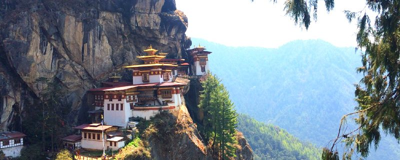Das Tigernest in Bhutan