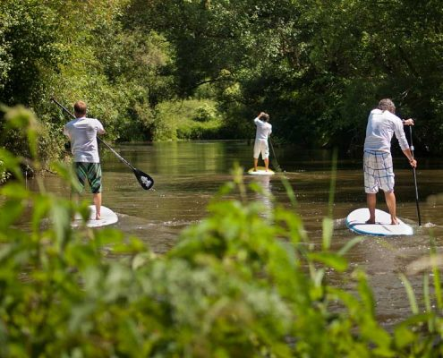 Bike & Stand Up Paddling als Outdoorerlebnis