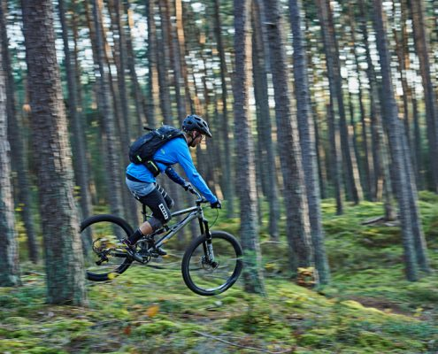 Mountainbike Tour am Heidenberg