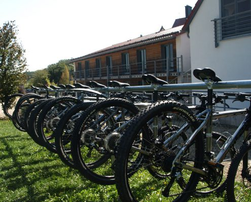 Organisation der Mountainbike Tour