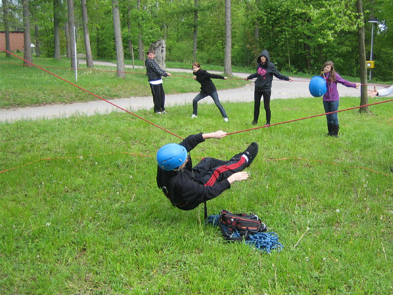 Azubikompetenztraining Outdoor