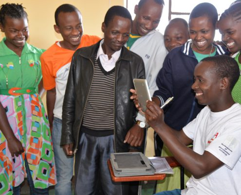 Tablets im MAssai College