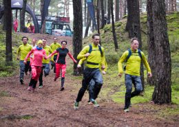 Trail Running beim Product Testing