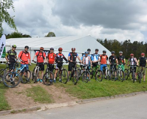 Mountainbiken beim Sportsday