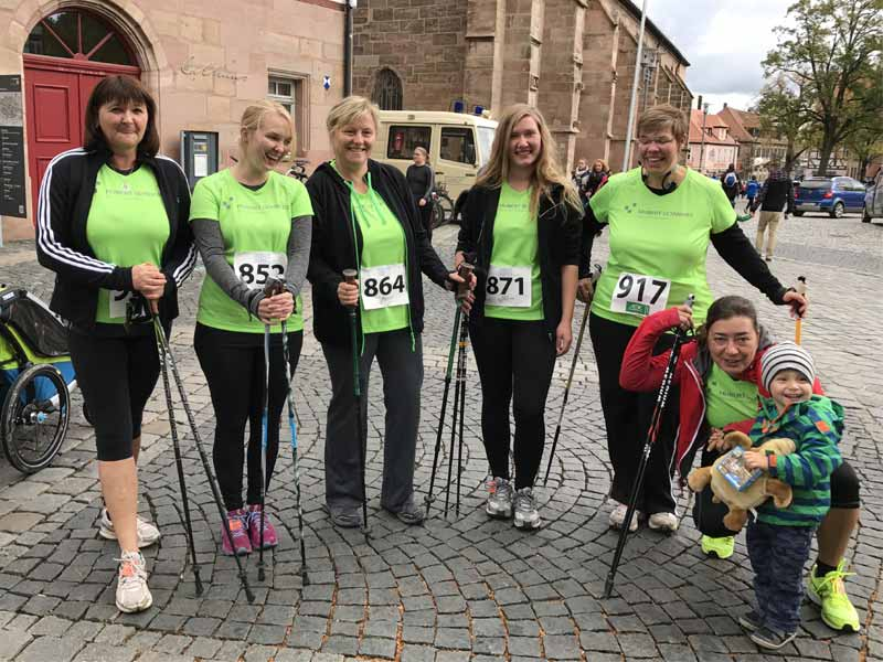 Nordic Walker Citylauf